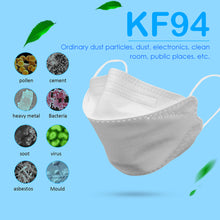 Load image into Gallery viewer, KF94 Face Masks Anti Flu Dust Proof Anti-fog 4 Layer Anti Dust Protective MasksN94 Masks Features as KF95 FFP2