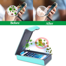 Load image into Gallery viewer, UV Sanitizer Ultraviolet Sterilizer Box Uvc Light Portable Automatic Disinfection Box Aromatherapy Blacklight Led Protection