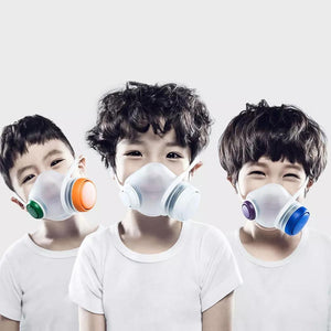 Youpin WoobiPlay Kids Sport Face Masks Clean Breathing Children Safe Respirators Block Dust PM2.5 Haze Anti-Pollution Air
