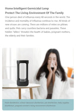 Load image into Gallery viewer, FIVE Intelligent disinfection lamp Germicidal Light UVC sterilization intelligent Human body sensor Mijia APP control