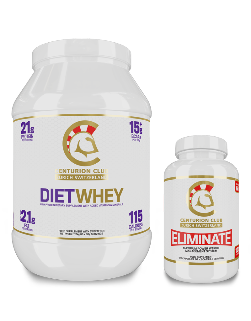 Diet Whey + Eliminate [Fettreduktion Bundle]