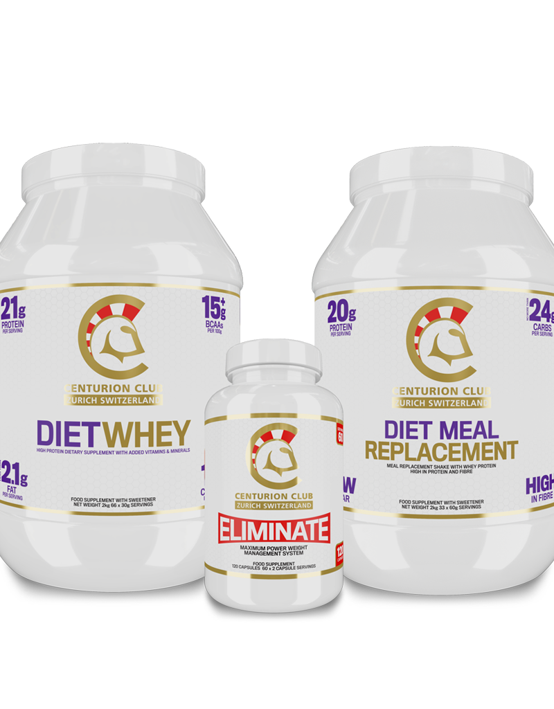 Diet Whey + Eliminate + Diet Meal Replacement  [Fettreduktion Bundle PRO]