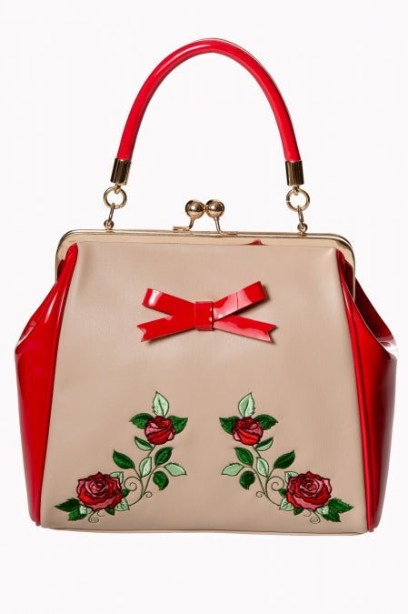Banned Clothing - Ladies Handbag Fantasy in Red