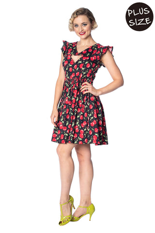 d19797509b6 Banned - Cherry Soda Peekapoo Dress Plus Size