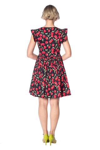 Banned - Cherry Soda Peekapoo Dress Plus Size|Poisonkandyklothing