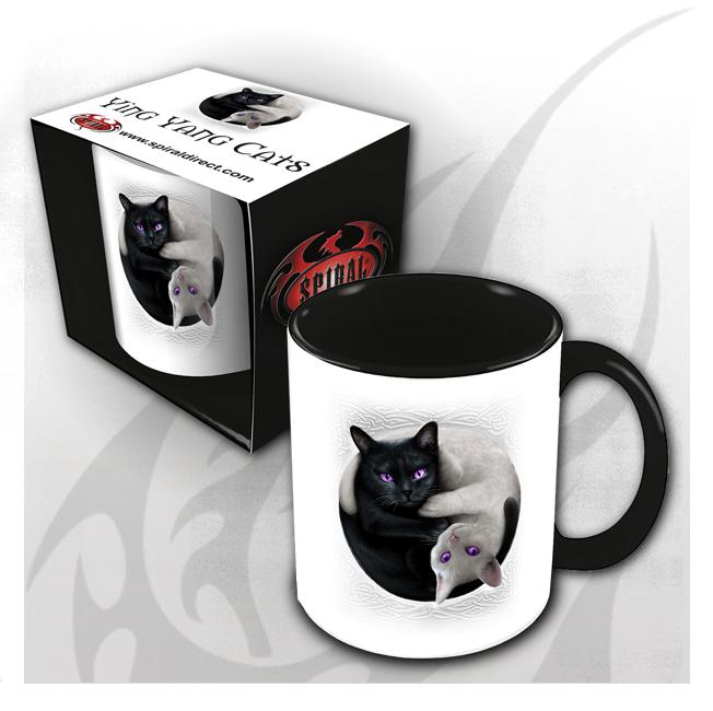 Mugs - Ying Yang Cats  Coffee Mug