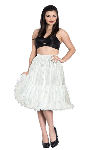 926caf864cdb Hell Bunny New Polly Petticoat White Hell Bunny New Polly Petticoat White
