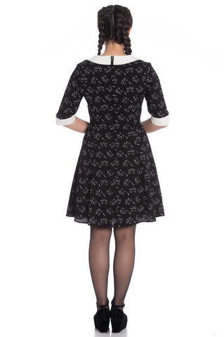 Hell Bunny Ladies Matou Mini Dress|Poisonkandyklothing
