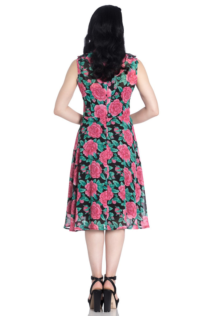 Hell Bunny Eden Rose Dress