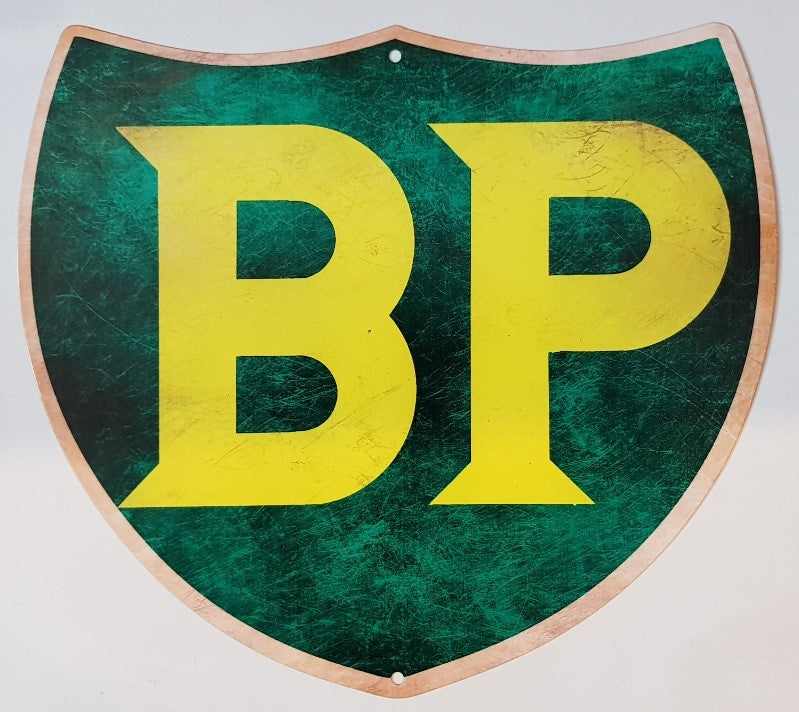 Tin Sign - BP Shield