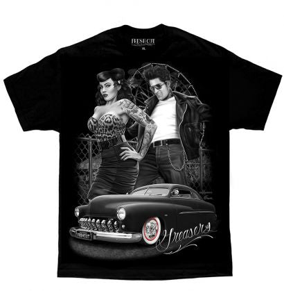 "DGA - Mens Tee ""Greasers"""
