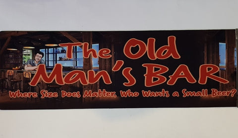 Bar Runner - The Old Man's Bar