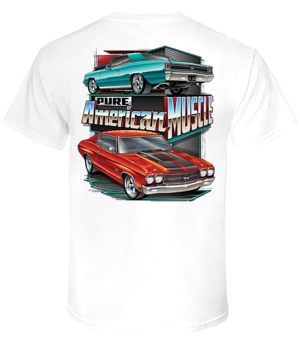 PKK Mens T-shirt - Chevelle Pure American Muscle