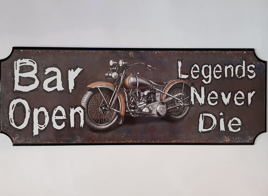 Wooden Sign - Legends Bar - Extra Large   Wall Sign