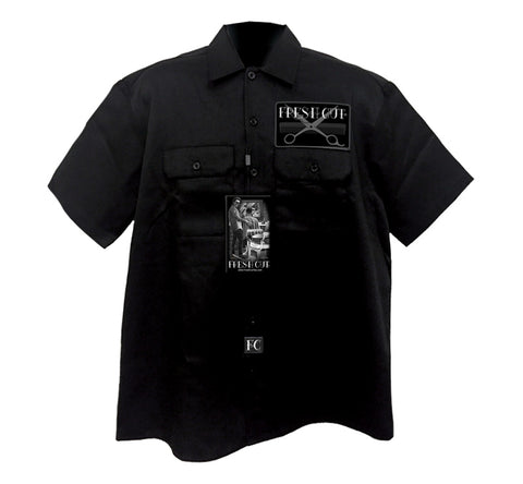 Button up Workshirt - DGA  Money Bag