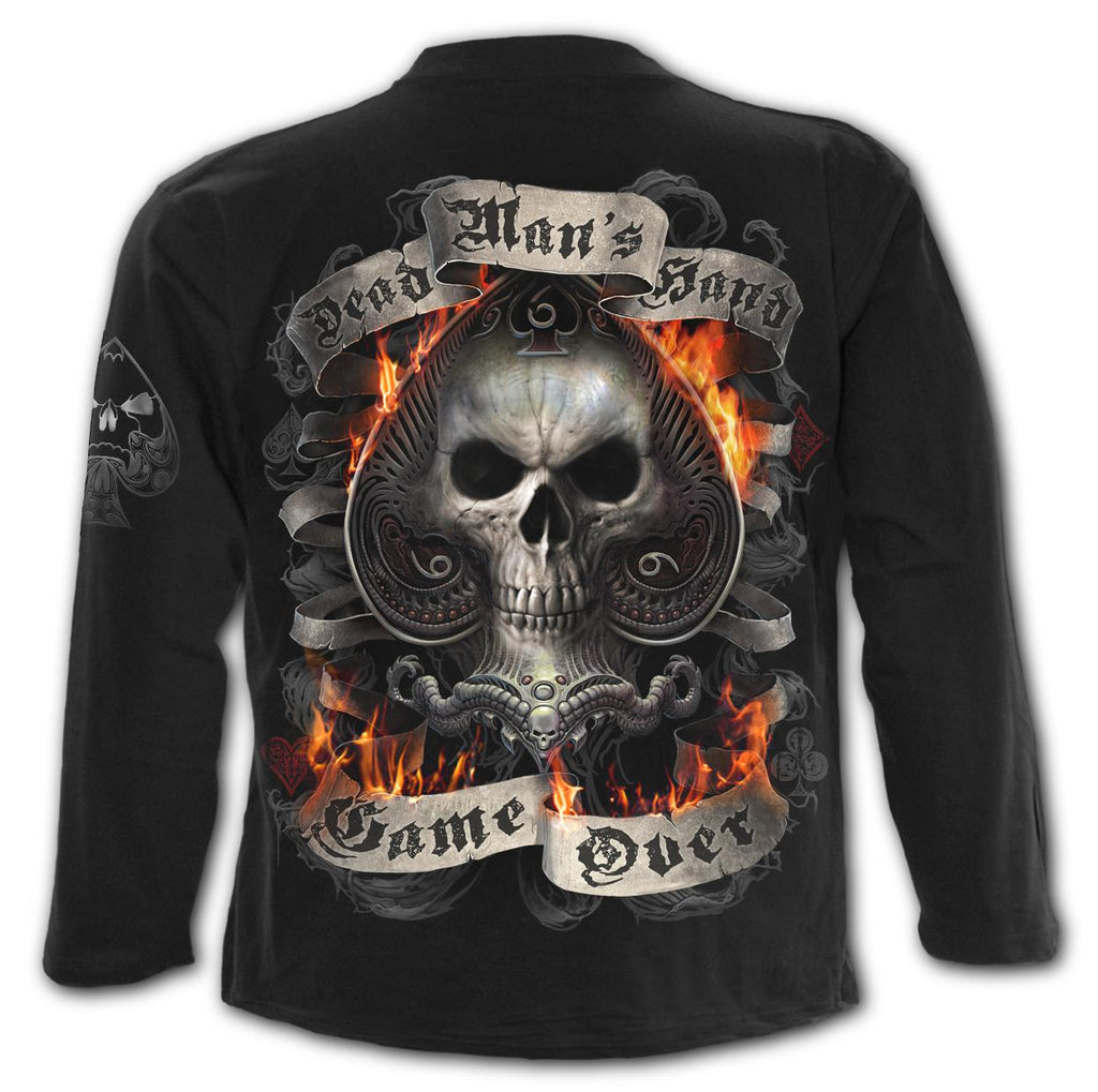 Spiral Men's Long Sleeve Tee - Ace Reaper