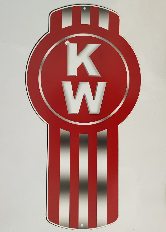 Tin Signs - Kenworth Truck Sign