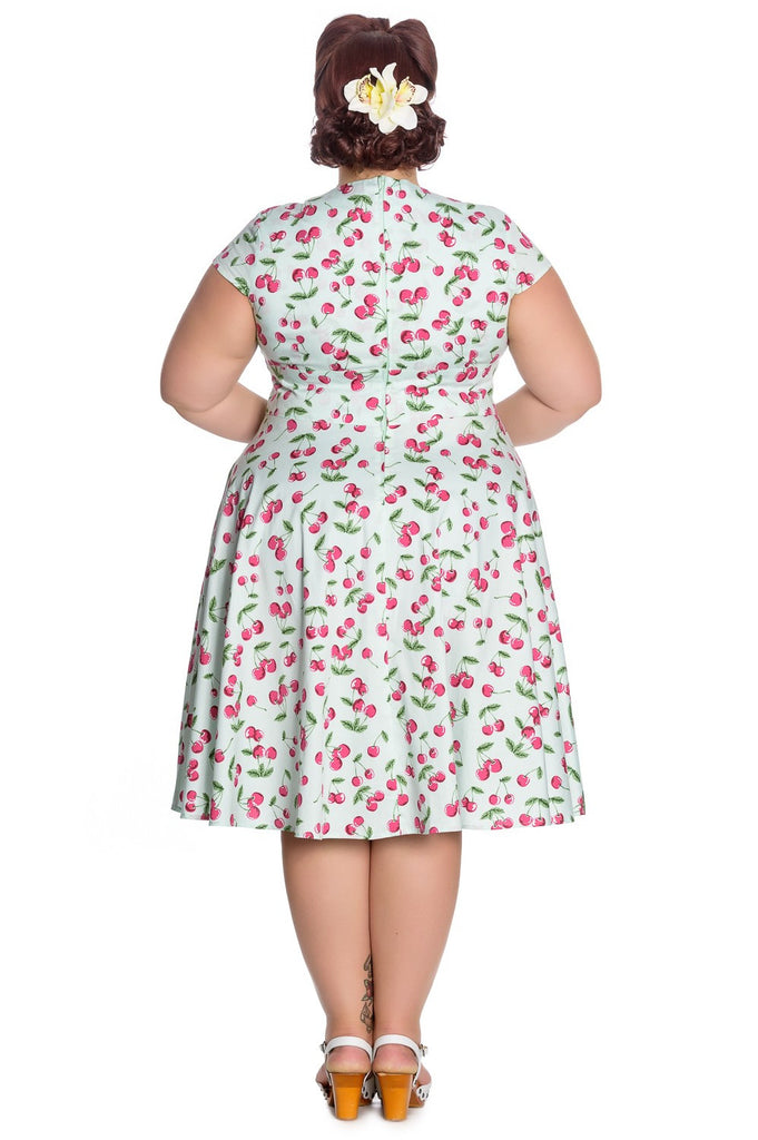Hell Bunny April 50's Dress Mint Plus Size|Poisonkandyklothing