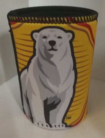 Bar Item - BUNDABERG CAN COOLER - YELLOW/BLACK