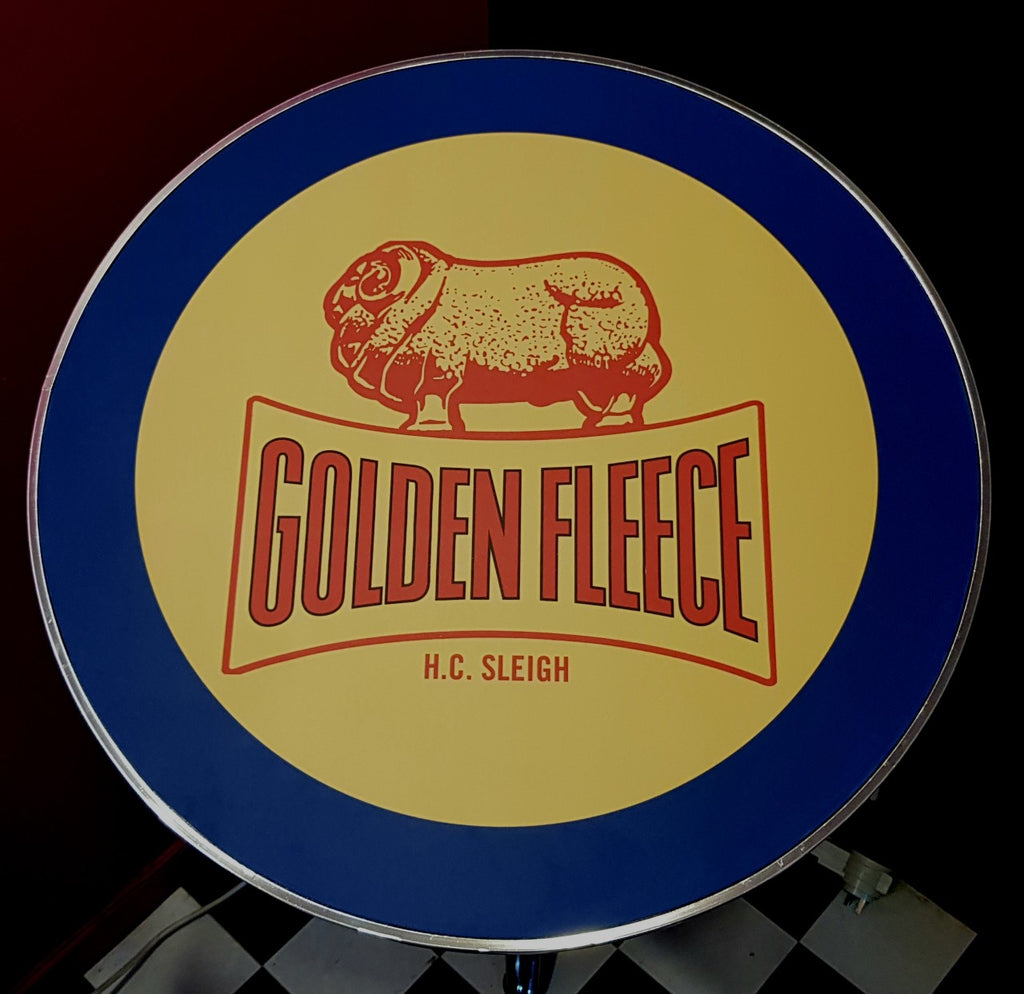 Bar Table - Golden Fleece Round