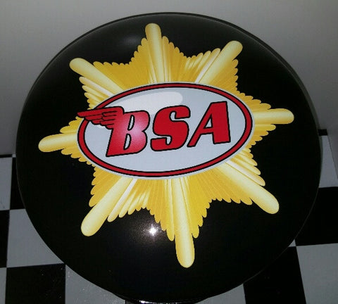Bar Stool - BSA Motor Cycles