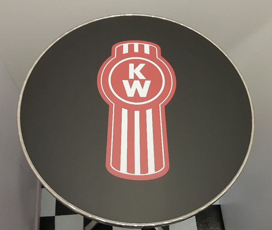 Bar Table - Kenworth  Round Top New Design