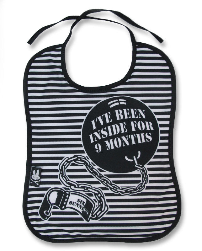 Six Bunnies Baby Bib - Ball n Chain