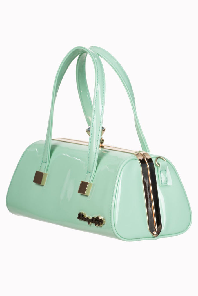 Banned Apparel - Ladies Handbag Emily Mint|Poisonkandyklothing