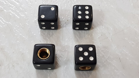 Valve Cap - Black Dice