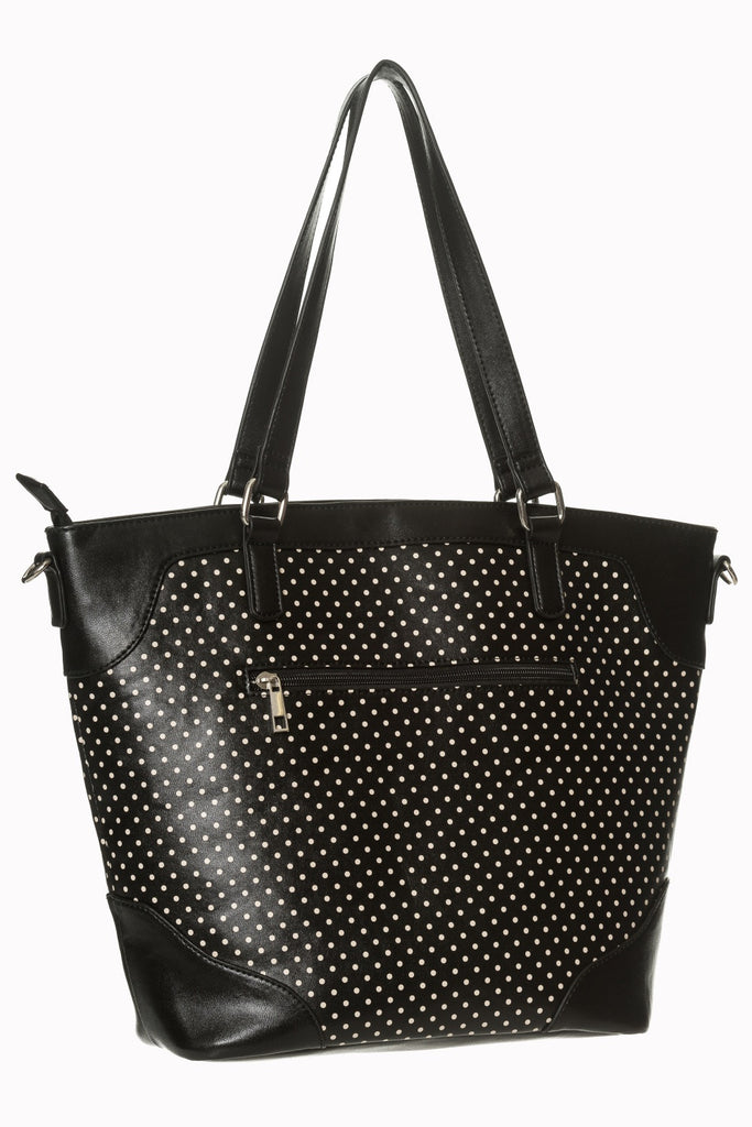Banned Clothing Blair Flamingo Handbag Black|Poisonkandyklothing