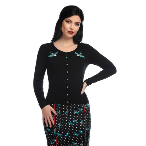 Collectif Cardigan - Jo Rockabilly Swallows