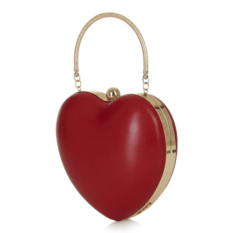 Collectif - Lou Heart Bag Red