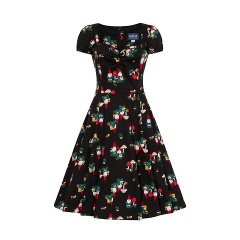 Collectif - Mainline Mimi Gnome Swing Dress|Poisonkandyklothing