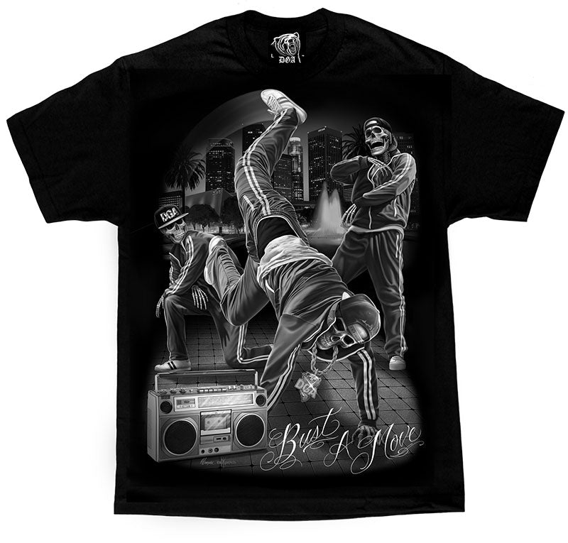 "DGA - Mens Tee ""Bust A Move""