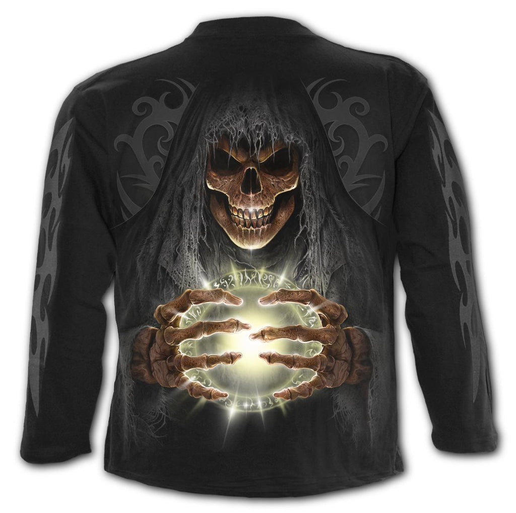Spiral Men's Long Sleeve Tee - Death Lantern