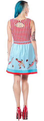 Sourpuss - Day at the Shore Ladies Dress Plus Size