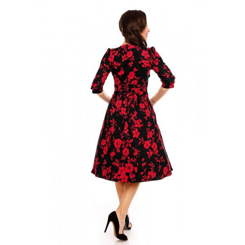 Dolly & Dotty Katherine Floral Dress]Poisonkandyklothing