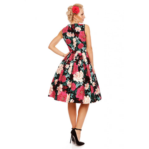 Dolly & Dotty - Elizabeth Vintage Floral Dress|Poisonkandyklothing