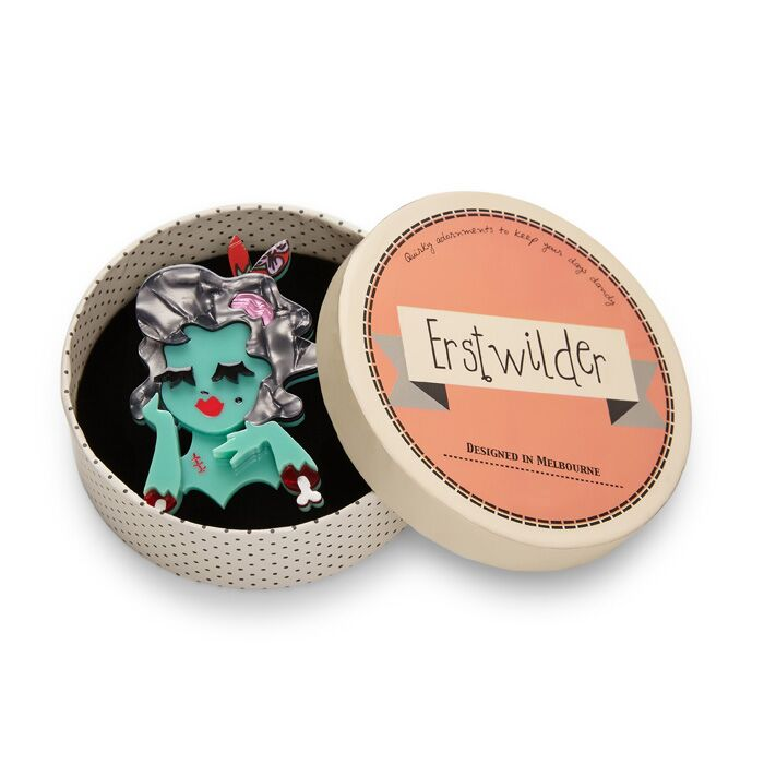 Erstwilder Brooch - Drop Dead Gorgeous|Poisonkandyklothing