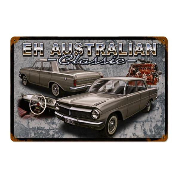 Tin Sign - EH Australian Classic