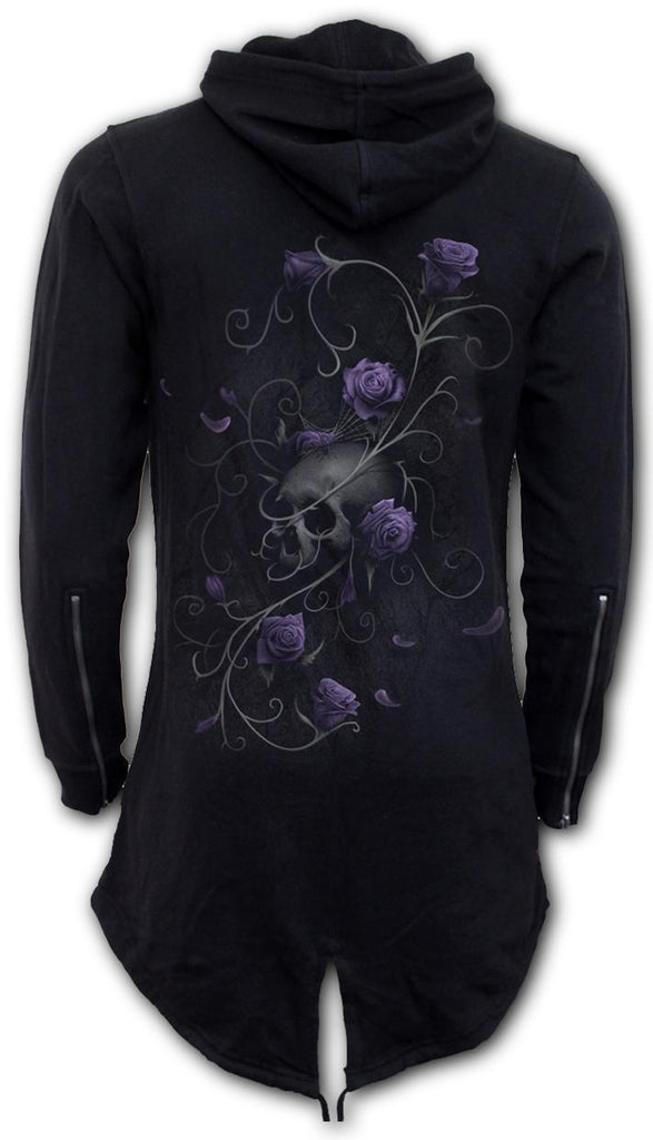 Spiral Ladies Hoody - Entwined Skull