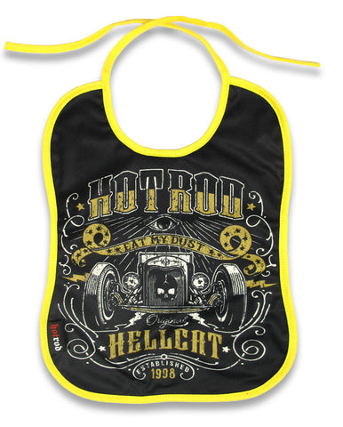 Hotrod Hellcat Baby Bib - Eat my Dust|Poisonkandyklothing
