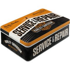 Flat Tin Container - Harley Davidson  Service & Repairs