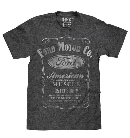 Ford  American Muscle Ford Motor Co Mens T shirt|Poison Kandy Klothing
