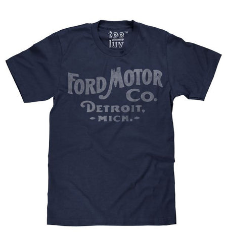 Ford - Motor Co Detroit Mich - Mens T shirt|Poison Kandy Klothing