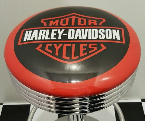 Bar Stool - Harley Davidson