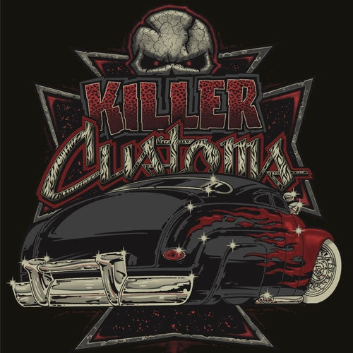 PKK Mens T-shirt -Killer Customs 49 Merc|PoisonKandyKlothing