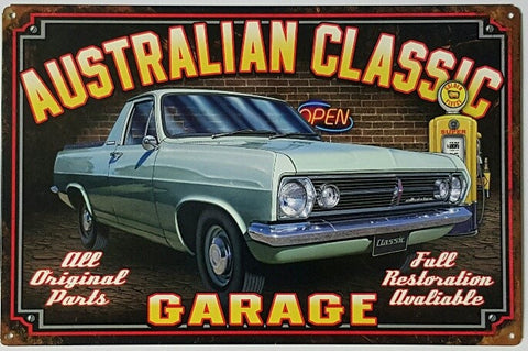 HR Holden Ute - Tin Sign