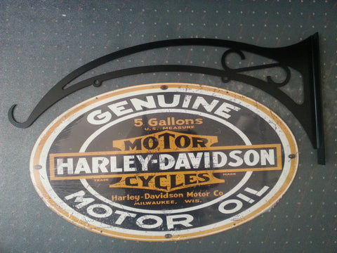 Tin Sign - Harley Davidson double sided