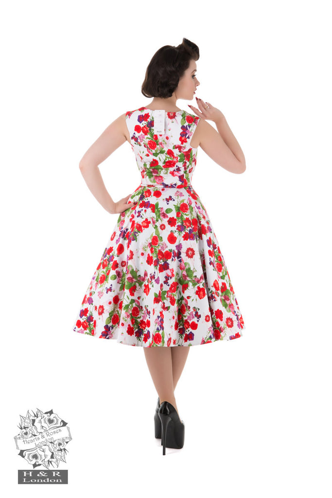 Hearts & Roses - Exotic Cami Floral Day Dress|Poisonkandyklothing